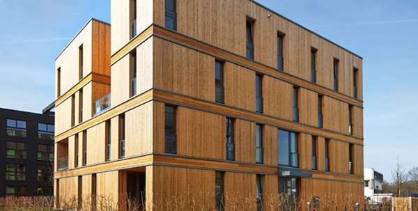 The future is wood using clt panels for better more eco