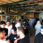 Naikoon Contracting Open house, buffet CLT construction and passive house in Vancouver, Party, Paris Plumbing