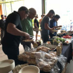 Naikoon Contracting Open house, buffet, CLT construction and passive house in Vancouver, buffet