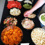 Naikoon Contracting Open house, buffet CLT construction and passive house in Vancouver, buffet