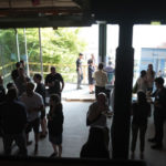 Naikoon Contracting Open house, mid construction CLT construction and passive house in Vancouver