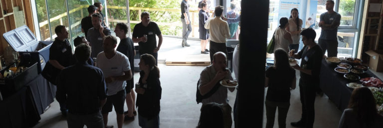 Naikoon Contracting Open house, buffet, CLT construction and passive house in Vancouver