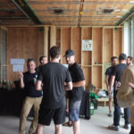 Naikoon Contracting Open house, buffet CLT construction and passive house in Vancouver